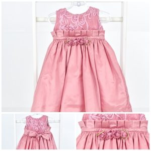 Vestido rosa old