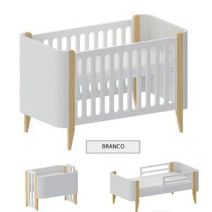 BERÇO BO BRANCO 3X1
