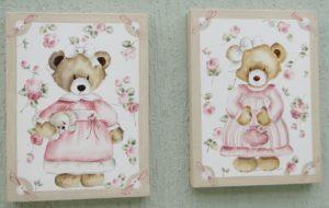 quadro ursa Clara - SALE