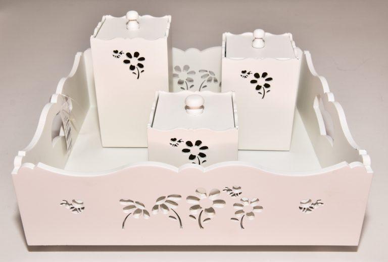 Kit Higiene Coleção Flor